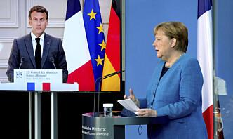 Merkel og Macron krever spionasje-svar fra USA