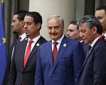 Libysk krigsherre polerer sitt politiske image