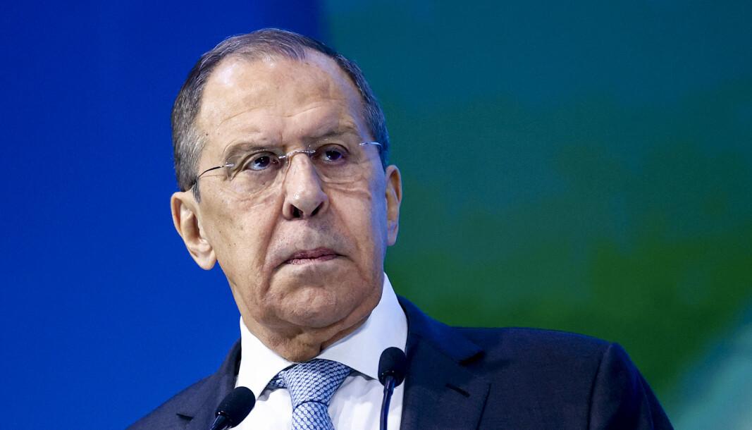 UTENRIKSMINISTER: Russlands utenriksminister Sergej Lavrov.