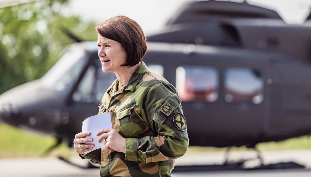SJEFSBYTTE: Tonje Skinnarland går fra stillingen som sjef for Luftforsvaret, og blir sjef operasjoner i Forsvarsstaben.