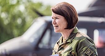 Tonje Skinnarland går til Forsvarsstaben