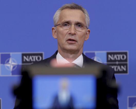 Stoltenberg til COP26 – blir første Nato-sjef på klimatoppmøte