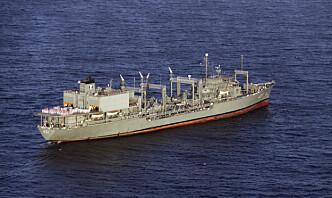 Irans marine sier besetning er i sikkerhet etter skipsbrann og forlis