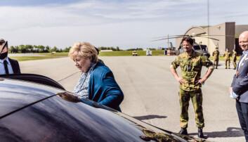 Solberg: – Nato kan ikke være et verdenspoliti