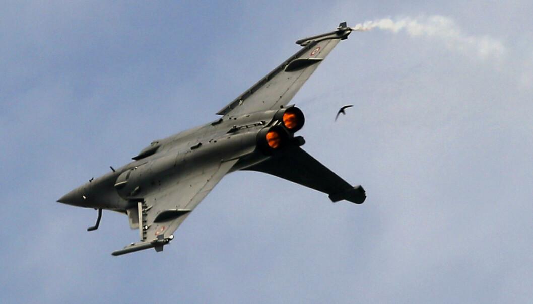 EKPORT: Frankrike er fortsatt verdens tredje største våpeneksportør.