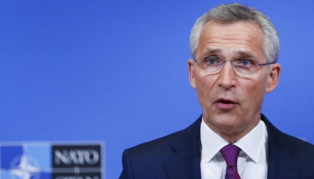 ØNSKER KLARHET: Natos generalsekretær Jens Stoltenberg tar til orde for en etterforskning av opplysninger om at danske myndigheter angivelig skal ha hjulpet amerikansk etterretning med å overvåke politikere i andre europeiske land.