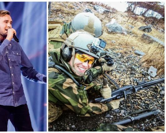 Norges stemme er HV-soldat