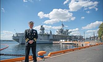 Skipssjef på USS Mount Whitney: – Det mest kapable kommandoskipet i den amerikanske marinen