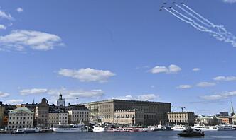 Person pågrepet for å ha satt Sveriges sikkerhet i fare