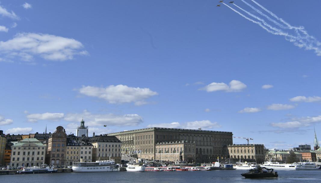 STOCKHOLM: Pågripelsen av personen som skal ha satt Sveriges sikkerhet i fare skjedde i Stockholm-omårdet.