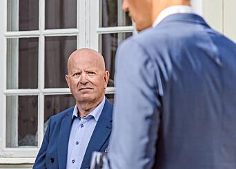 Stolt: Ole Vikre var stolt over å ha blitt invitert av forsvarssjefen.
