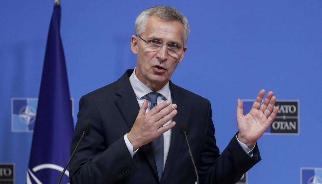 FORBEREDELSER: NATOs generalsekretær Jens Stoltenberg skal møte president Joe Biden i Det hvite hus på mandag, for å forberede seg til det kommende Nato-toppmøtet.