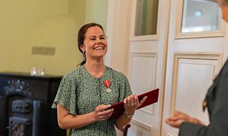 Jenter i Forsvaret-grunnlegger fikk Forsvarsmedaljen