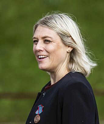 Den danske forsvarsministeren, Trine Bramsen.