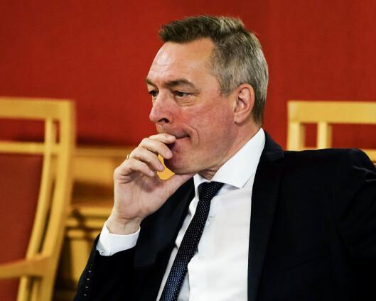 Forsvarsminsteren vil snarest mulig orientere Stortinget om spionasjesaken