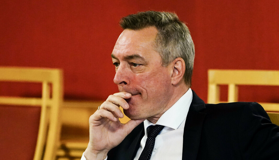 SPIONASJE: Forvarsminister Frank-Bakke-Jensen innkalte chargé d'affaires ved den amerikanske ambassaden til et møte om saken.