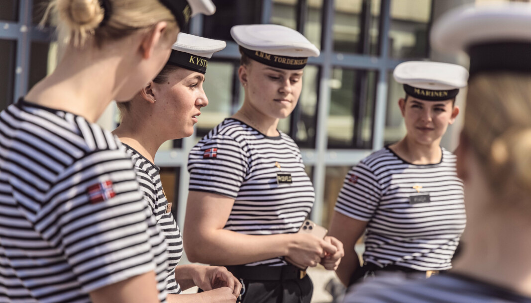 TILLITSVALGTE: Tillitsvalgte i Sjøforsvaret forklarer hvilke saker de anser som viktige i forbindelse med årets landskonferanse.