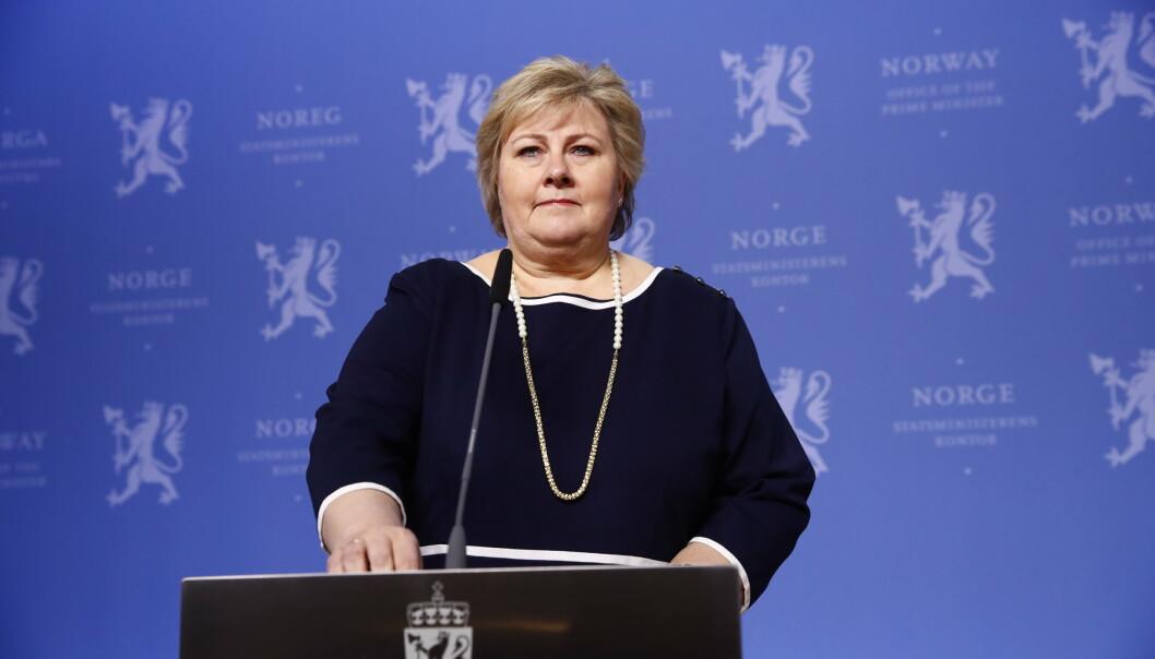 Statsminister Erna Solberg (H) advarer mot å trekke den globale tenkningen i Nato for langt. Mandag deltar hun på alliansens toppmøte i Brussel.