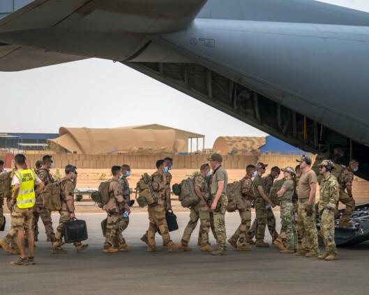 Macron avvikler militæroperasjon i Sahel