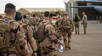 Fransk Mali-avvikling påvirker Danmarks oppdrag