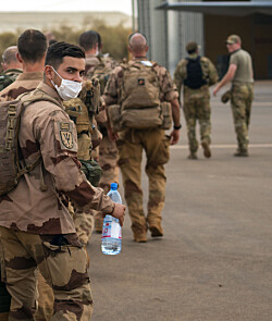 Fransk Mali-avvikling påvirker dansk oppdrag