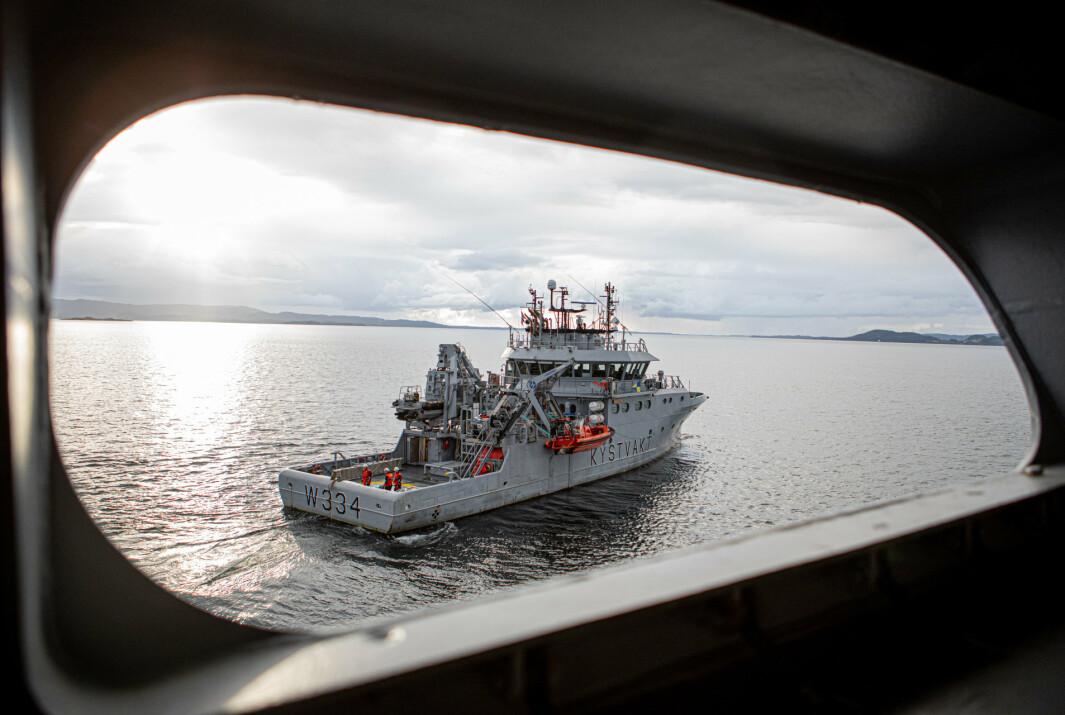 KV Tor er et av fartøyene som skal delta i Pride-parade i Bergen 12. juni.