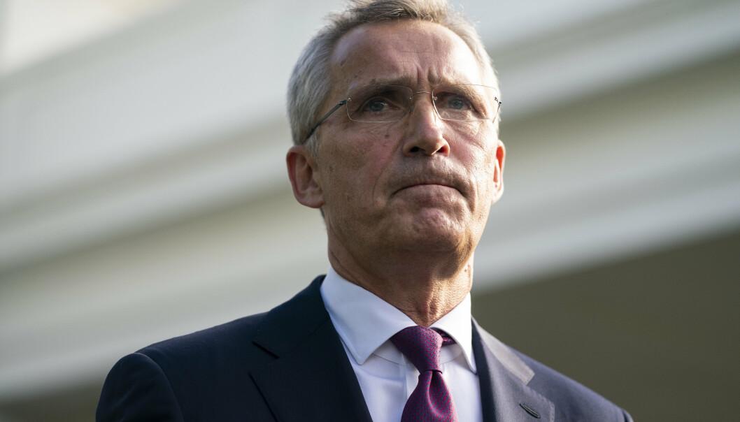 TOPPMØTE: Natos generalsekretær Jens Stoltenberg etter møtet med president Joe Biden 7. juni.