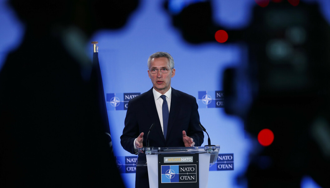 NATO: Jens Stoltenberg åpner idag Nato-toppmøtet i Brussel.