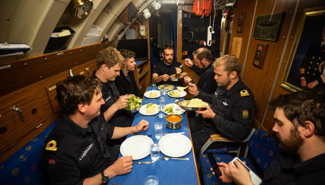 <p>SJULT: Ula-klassen er stillegående og vanskelig for fregatter å registrere.</p>