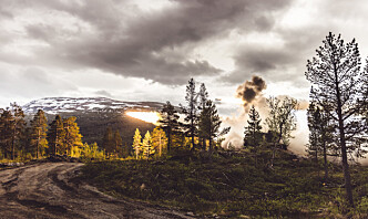 Her skytes det med rakettartilleri i Norge for første gang på 20 år