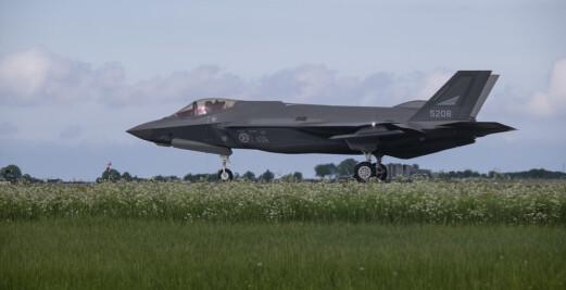 – Vi ser at F-35 kan operere under et mye høyere trusselnivå enn F-16