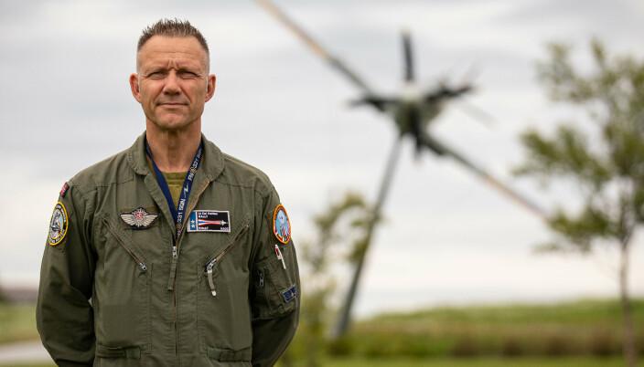 Oberstløytnant Lars Holten har vært sentral i å planlegge øvelse ACE.