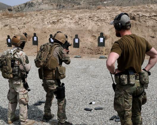 Norge tar sikte på å fortsette treningen av afghanske sikkerhetsstyrker