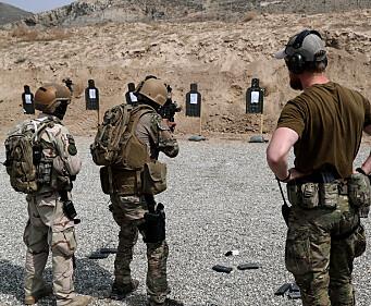 Norge vil fortsette treningen av afghanske sikkerhetsstyrker