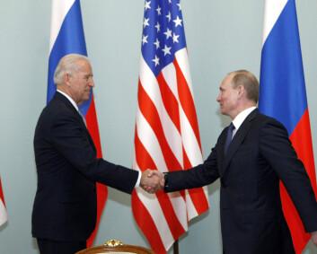 Solberg demper forventningene til møtet mellom Biden og Putin
