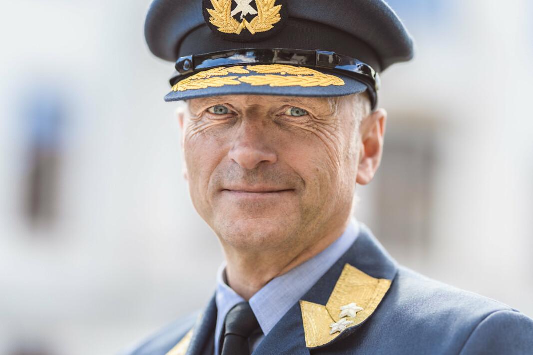 MILITÆR SJEF: Til forskjell fra Petter Jansen, er Lars Christian Aamodt en militær sjef i FLO.
