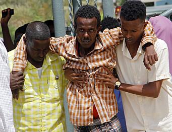 Selvmordsangrep mot militærleir i Somalia