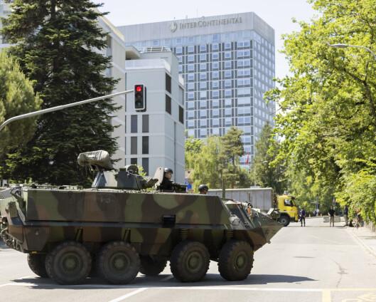 Biden framme i Genève foran Putin-toppmøte