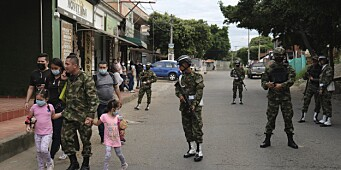 Over 30 såret i angrep mot militærbase i Colombia