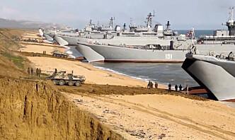 Russland aktiverer overvåking over Krim før toppmøte