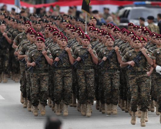 Libanons hær ber om matvarehjelp