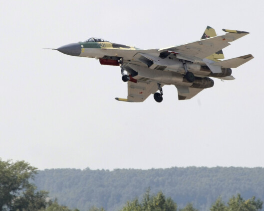 To russiske jagerfly fløy inn i estisk luftrom