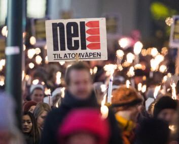 Atomvåpen: Høyre er på kollisjonskurs med folket