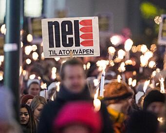 Atomvåpen: «Høyre er på kollisjonskurs med folket»