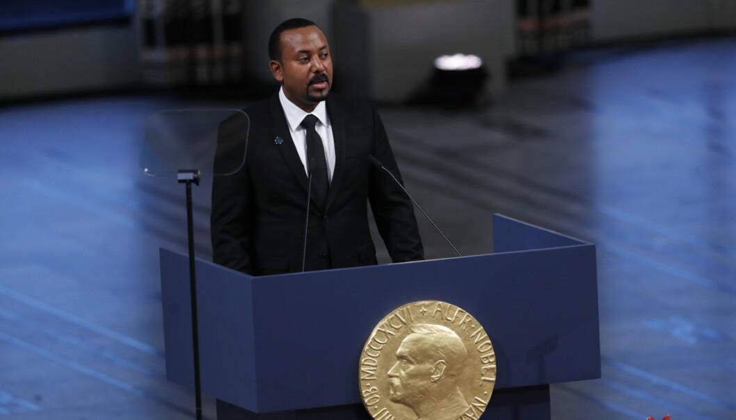 Mange etiopiere og omverdenen hadde store forhåpninger til statsminister Abiy Ahmed, som i 2019 ble tildelt Nobels fredspris. I dag anklages han for autoritært styre og grove brudd på menneskerettighetene, først og fremst i Tigray-regionen.