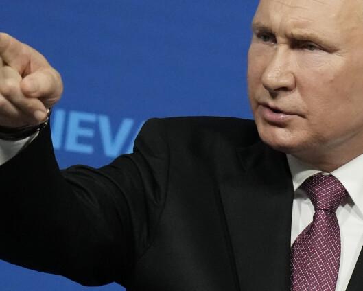 Vesten sliter med å lese Putin