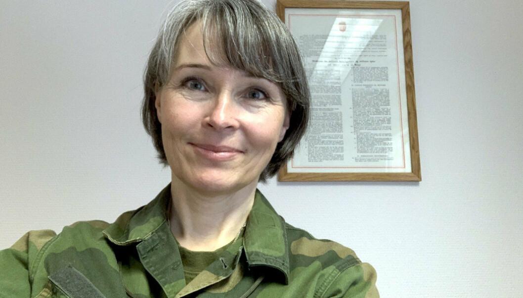 NY SJEF: Oberst Marianne Døhl overtar som sjef for Luftkrigsskolen.