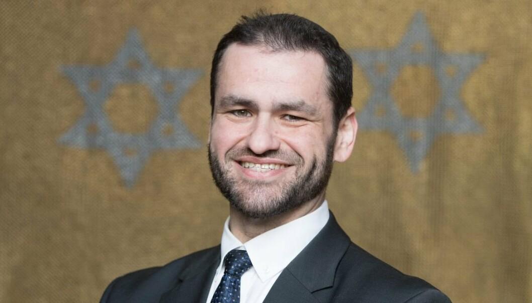 SJEFSRABBI: Rabbi Zsolt Balla er utpekt som sjefsrabbi i det tyske forsvaret.