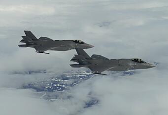 Her er de første bildene tatt fra Norges F-35