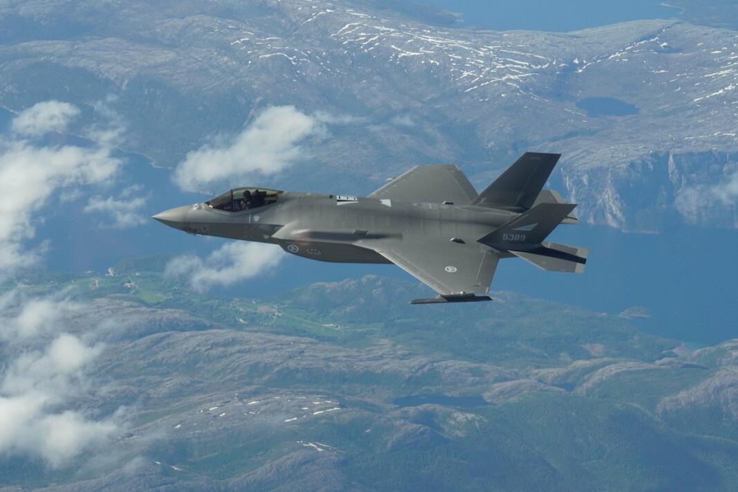 BESTE: F-35 har helt unike egenskaper som gir det til et av verdens beste kampfly.